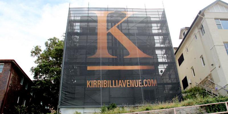 Residental - Kirribilli - Sydney - Scaffolding