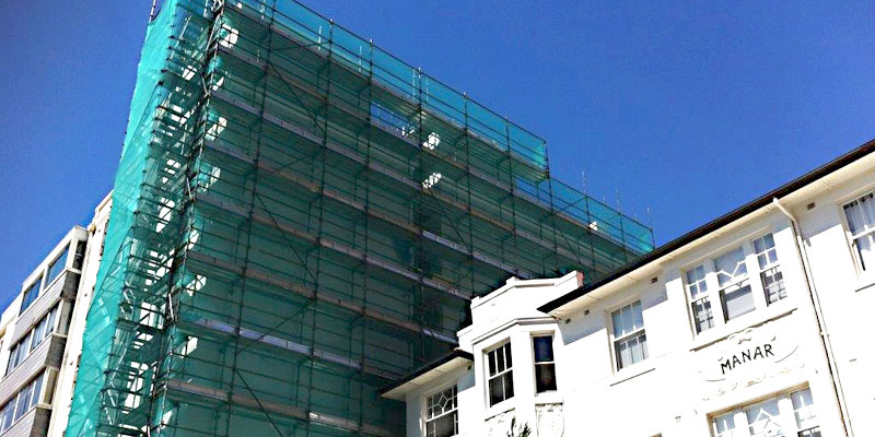 Residental - Potts Point - Sydney - Scaffolding