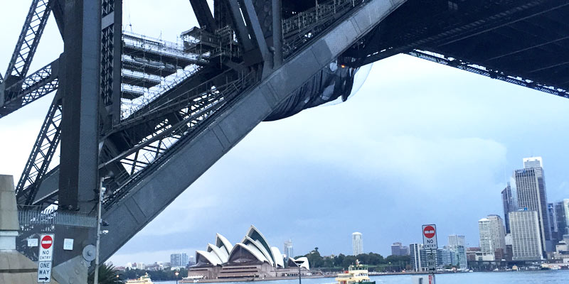 Sydney Harbour Bridge maintenance North Pylon - Stronghold Scaffolding Hire - Sydney