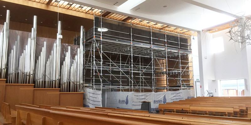 Commercial Scarffolding Hire - St Patricks Cathedral, Parramatta