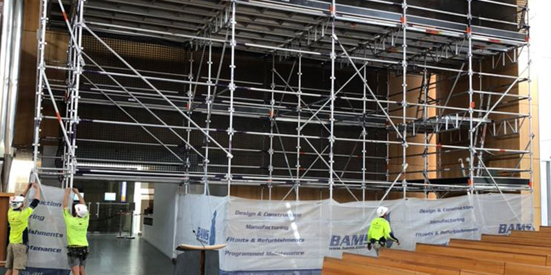 St Patricks Cathedral, Parramatta - Commercial Scaffolding Hire Sydney