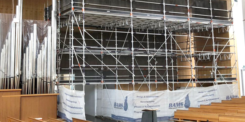 St Patricks Cathedral, Parramatta - Commercial Scaffolding Hire