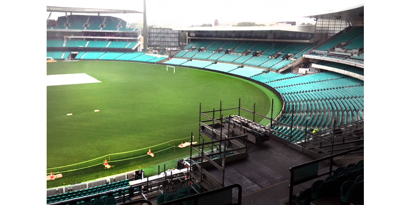 Cricket Ground Moore Park - Stronghold Scaffolding - Sydney