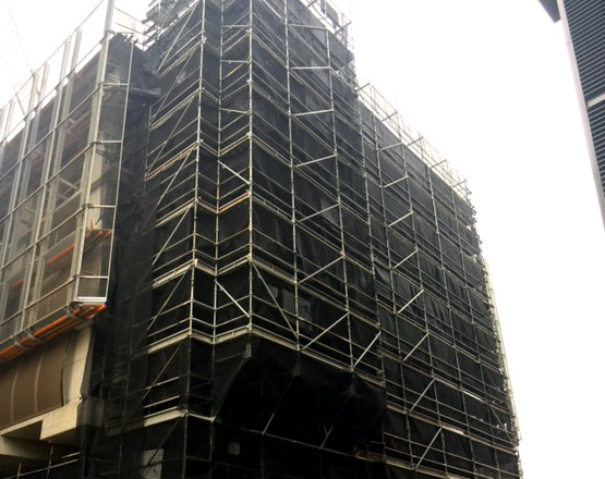 Commercial Scaffolding - Stronghold Hire