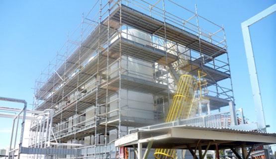 Industrial Scaffolding - BP - Sydney