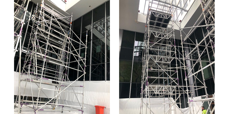 Aluminium Kwik Stage Scaffold Hire Angel Place CBD - Stronghold Scaffolding Hire