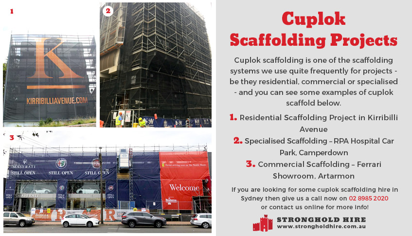 Cuplok Scaffolding Projects Sydney - Scaffolding Hire