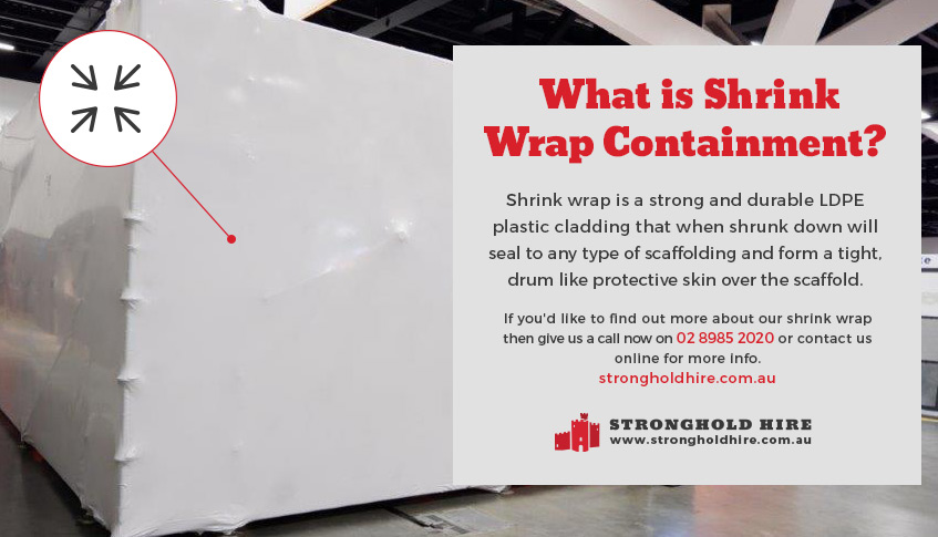 Shrink Wrap Containment Sydney - Stronghold Hire