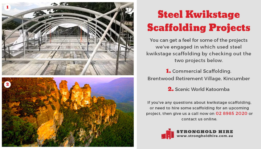 Steel Kwikstage Scaffolding Projects Sydney - Stronghold Hire