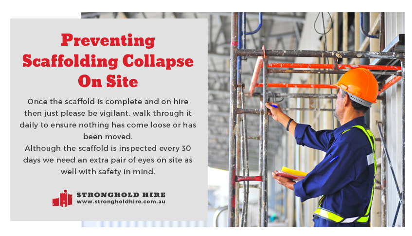 Preventing Scaffolding Collapse On Site - Stronghold Hire Sydney