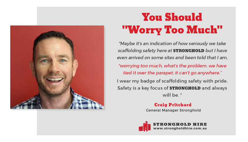 Scaffolding and Safety - Stronghold Hire - Sydney