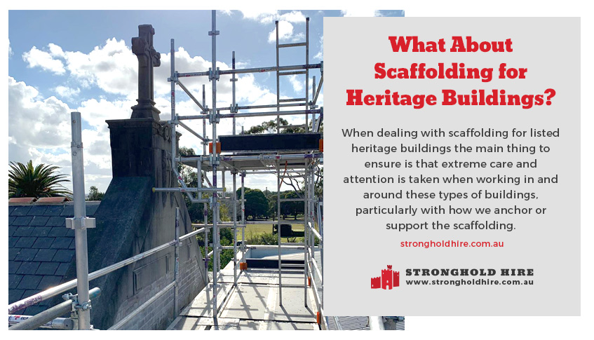 Scaffolding for Heritage Buildings - Hire Scaffolidng Sydney