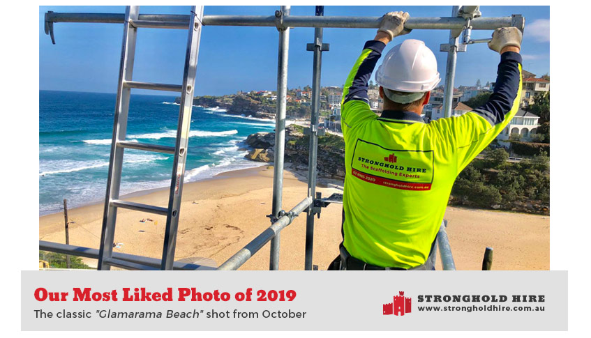 Stronghold Scaffolding Hire - Most Liked Photo 2019