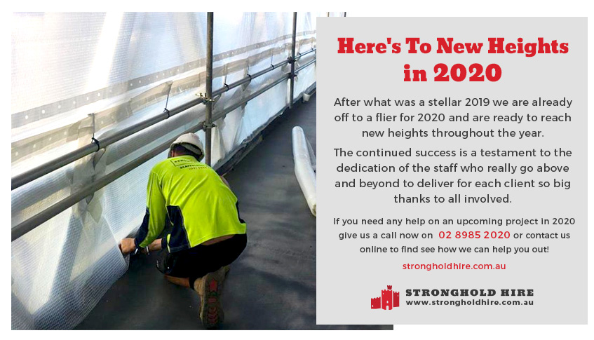 Stronghold Scaffolding Hire Sydney - 2020