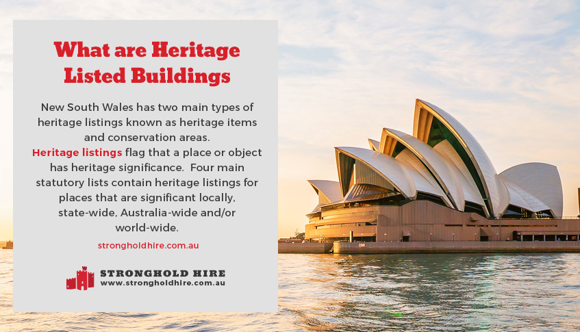 What Are Heritage Listed Buildings Sydney - Stronghold Scaffolding Hire