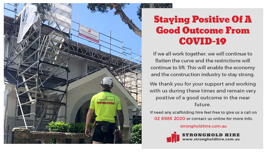 Scaffolding Hire - Covid-19 - Stronghold Hire Sydney