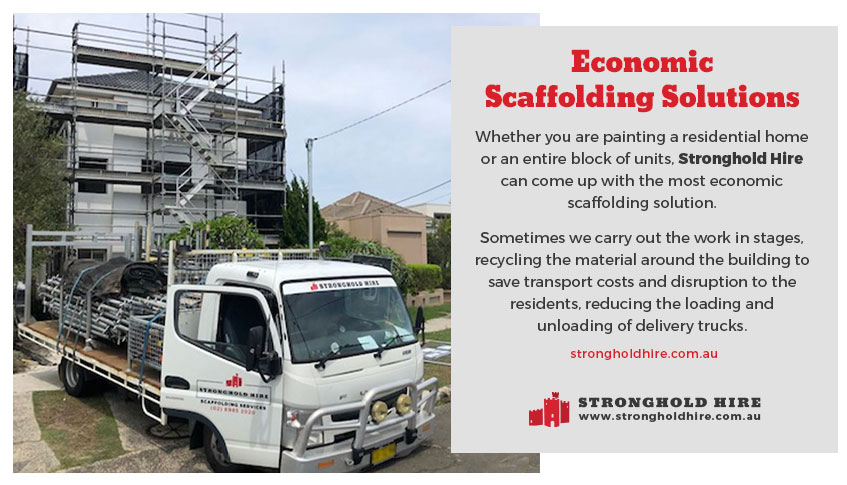 Economic Scaffolding Hire - Stronghold Scaffolding Sydney