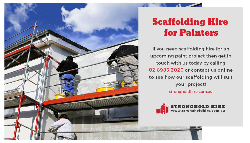 Scaffolding Hire for Painters in Sydney - Stronghold