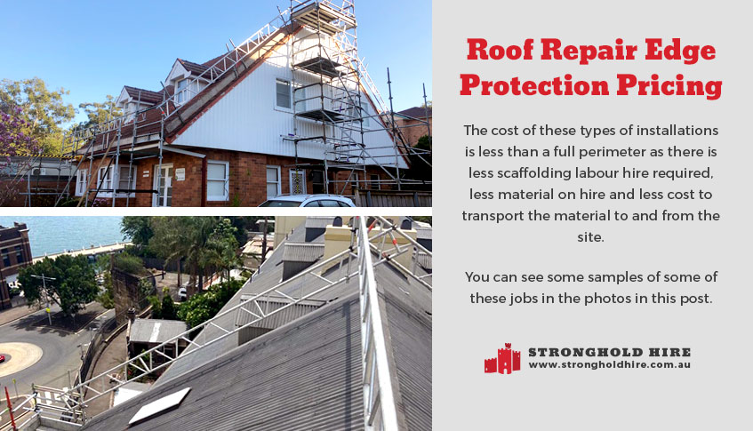 Roof Repair Edge Protection Pricing - Hire Scaffolding Sydney