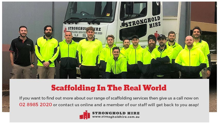 Hire Scaffolding Sydney - Stronghold Hire Australia