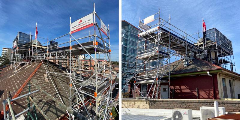 Scaffolding Hire Sydney - Maroubra Juction Hotel