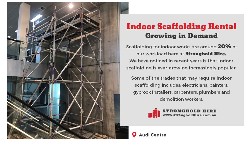 Indoor Scaffolding Rental - Stronghold Hire Sydney