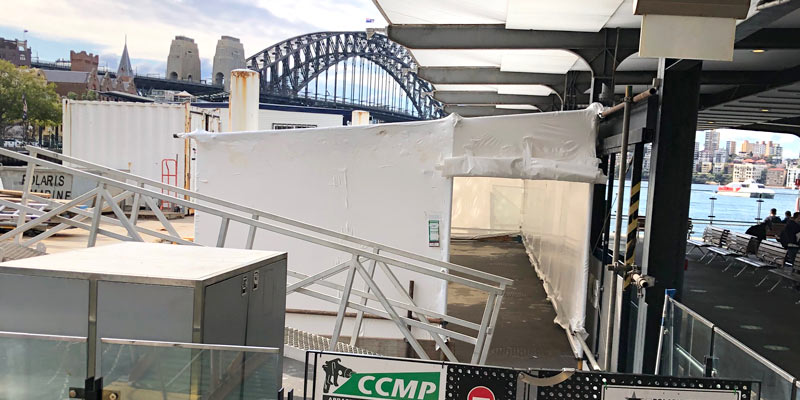 Shrink Wrap Encapsulation Services Sydney - Stronghold Hire