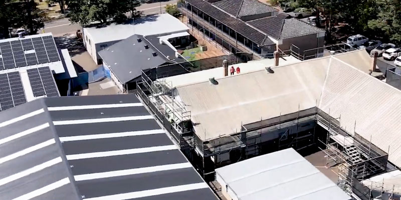 Manly West Public School Scaffolding Project- Scaffolding Hire Sydney