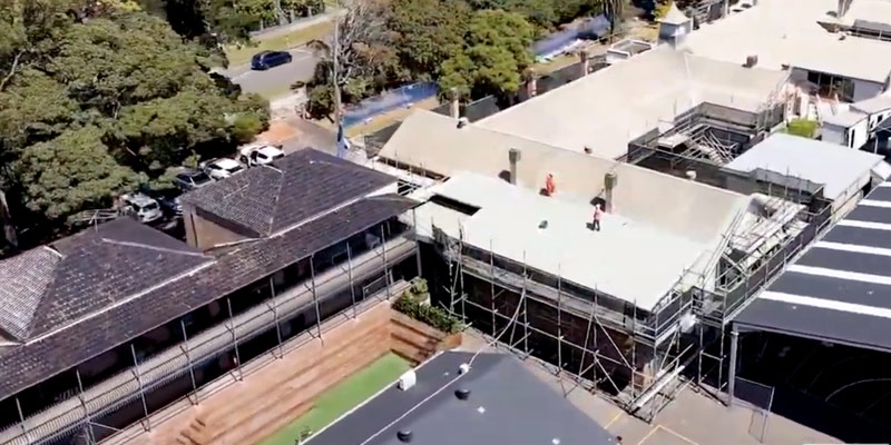 Scaffolding Hire for Schools - Manly West Public School Sydney