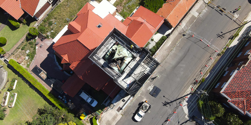 Ashfield Bell Tower - Scaffolding - Stronghold Hire Sydney