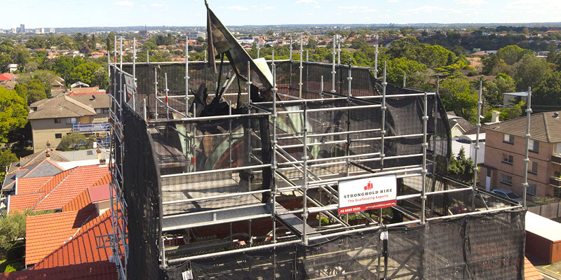 Hire Scaffolding - Ashfield Bell Tower Sydney