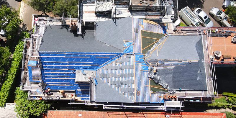 Hire Scaffolding Roof Replacement - Kirribilli