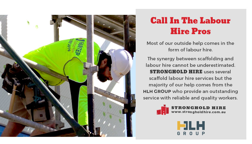 Hunter Labour Hire and Stronghold Scafolding - Sydney