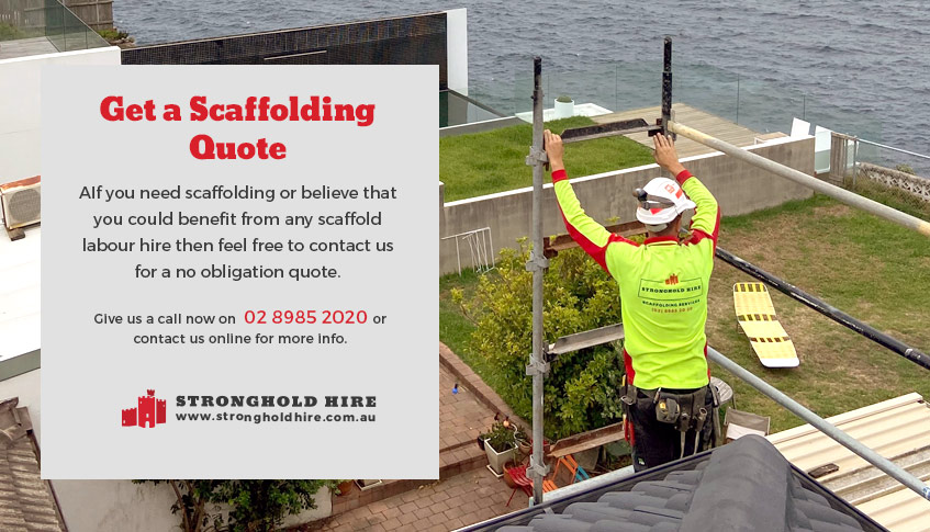 Scaffolding Quote - Stronghold Hire Sydney