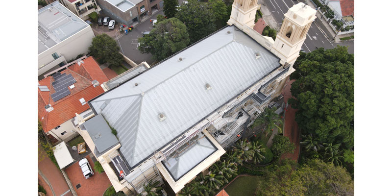 Hire Scaffolding Sydney - Mary Immaculate Church