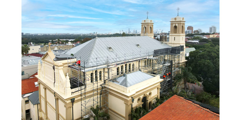 Scaffolding Hire Sydney - Churches - Stronghold