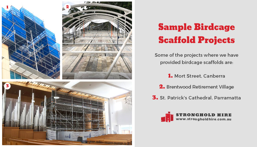 Birdcage Scaffold Projects - St Patrick Cathedral - Parramatta