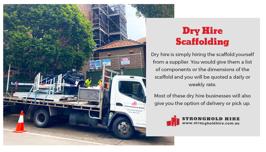 Dry Hire Scaffolding - Stronghold Sydney
