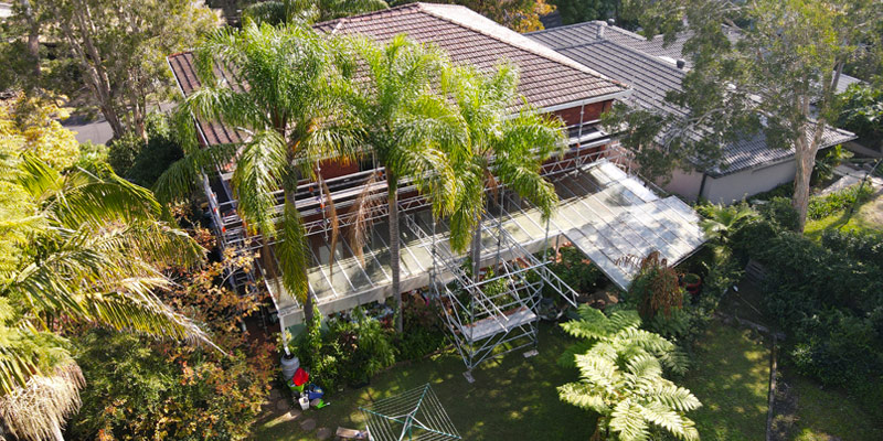 Hire Scaffolding Houses - Stronghold Sydney