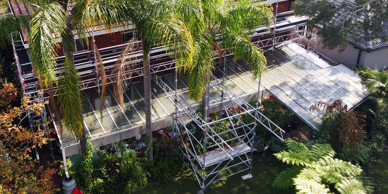 Hire Scaffolding Sydney Private Properties - Stronghold
