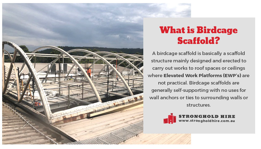 What is Birdcage Scaffolding - Stronghold Sydney