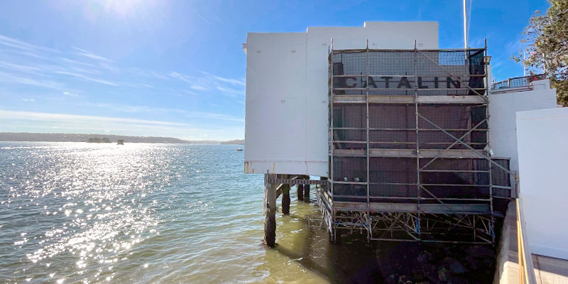 Catalina Restaurant Rose Bay - Stronghold Scaffolding Hire