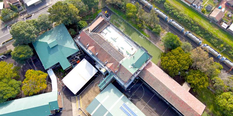 Belmore North Public School - Stronghold Hire Scaffolding Sydney