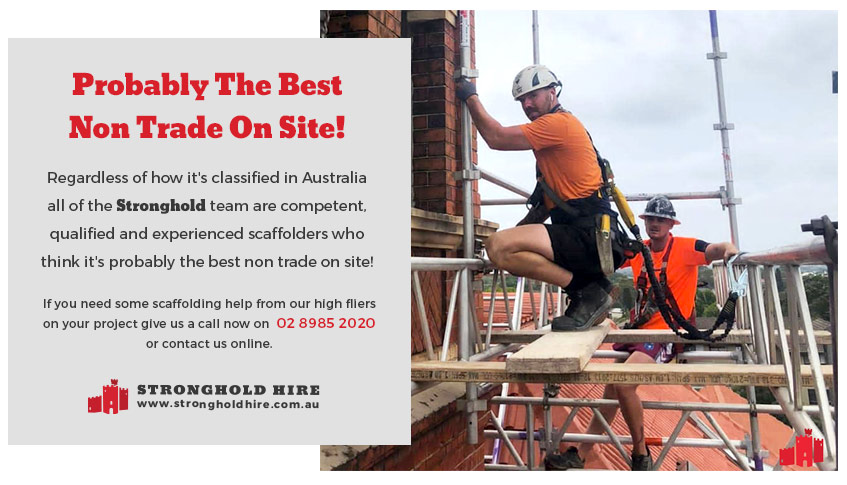 Best Non Trade On Site - Stronghold Australia