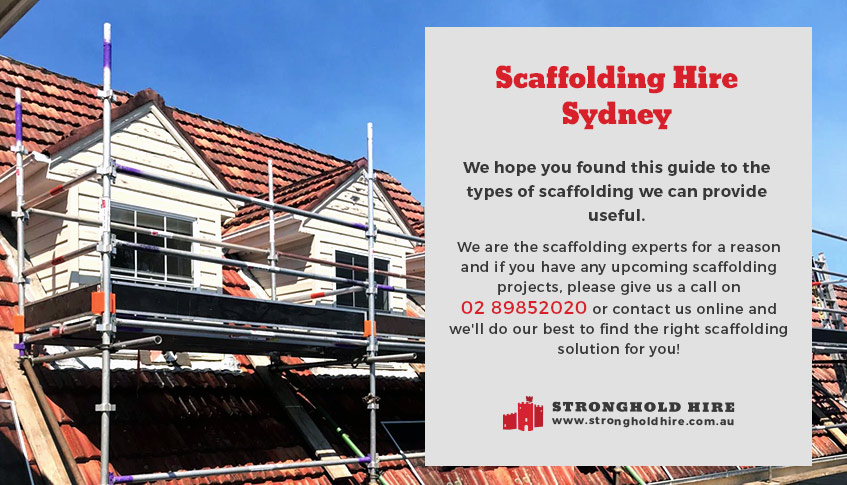Scaffolding Hire - Stronghold Sydney