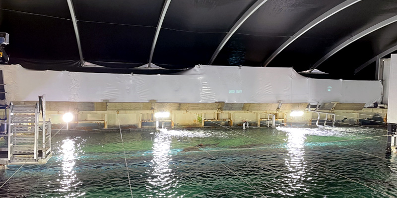 Shrink Wrap Sydney Aquarium - Stronghold Hire