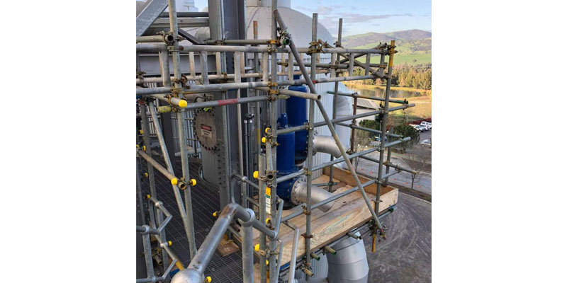 Tube Fitting Tumit Scaffolding Hire - Stronghold
