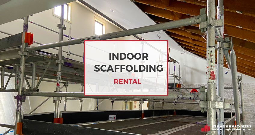Indoor Scaffolding Rental - Stronghold Scaffolding