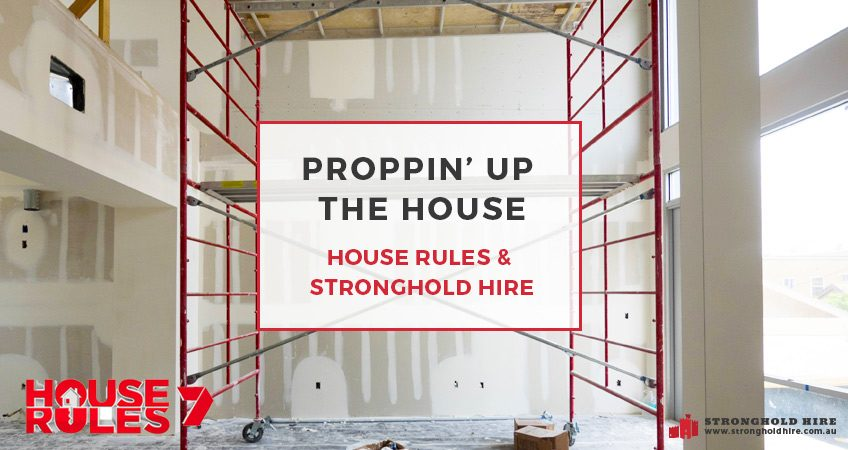 Proppin' Up The House – House Rules & Stronghold Hire