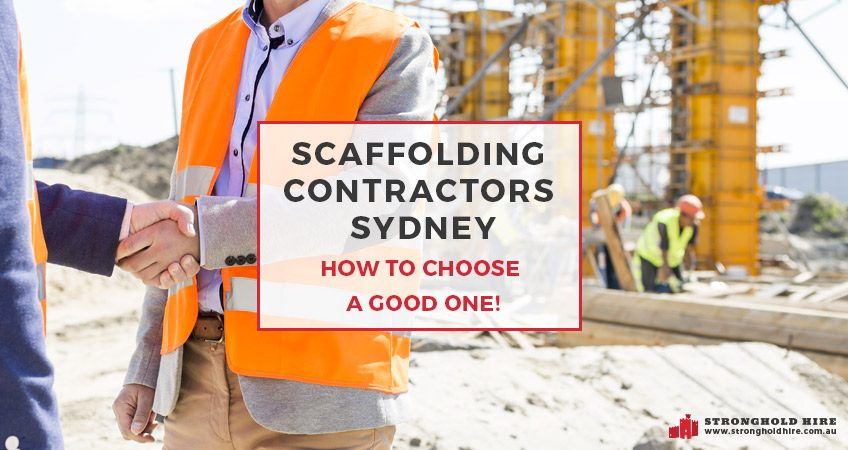 Scaffolding Contractors Sydney - Stronghold Scaffolders